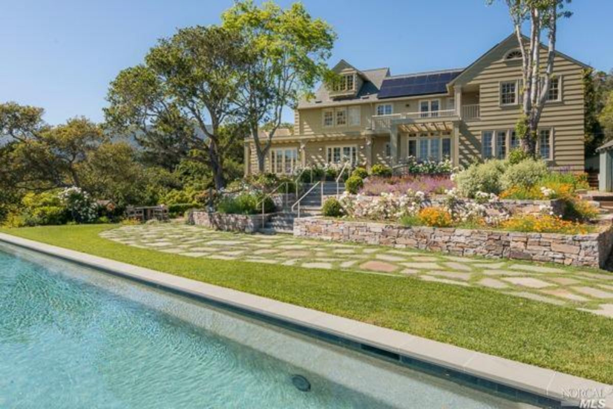 "Rare, Historic Mill Valley ""Sherman"" Estate; Walk to Downtown at 166 Elinor"