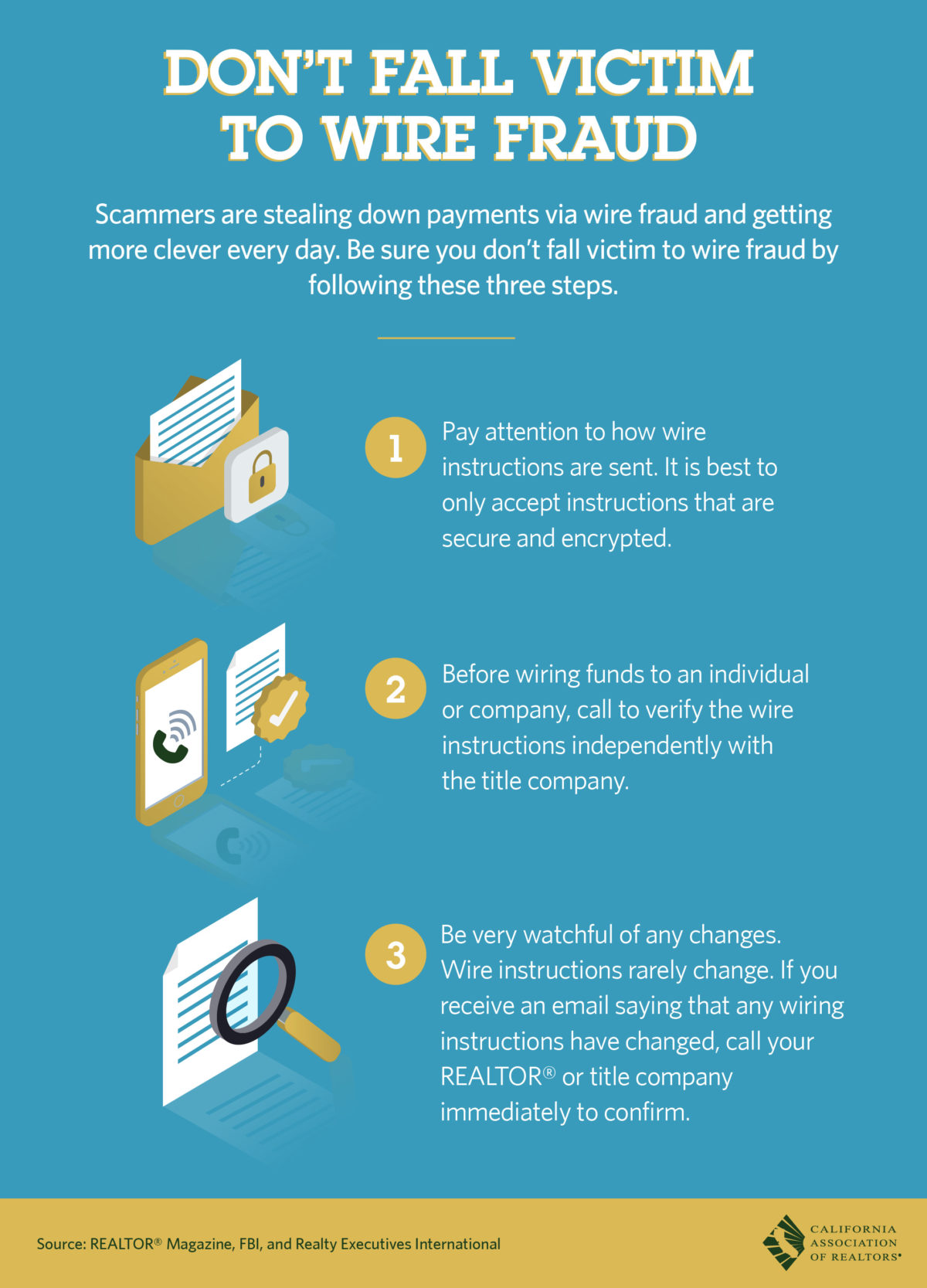 Follow These Simple Rules & Don't Fall Victim to Wire Fraud