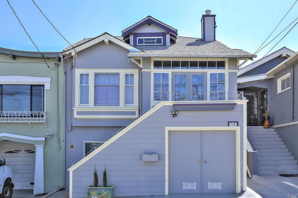 Beautiful 4br/3ba Home w/Backyard in Crocker Amazon, SF