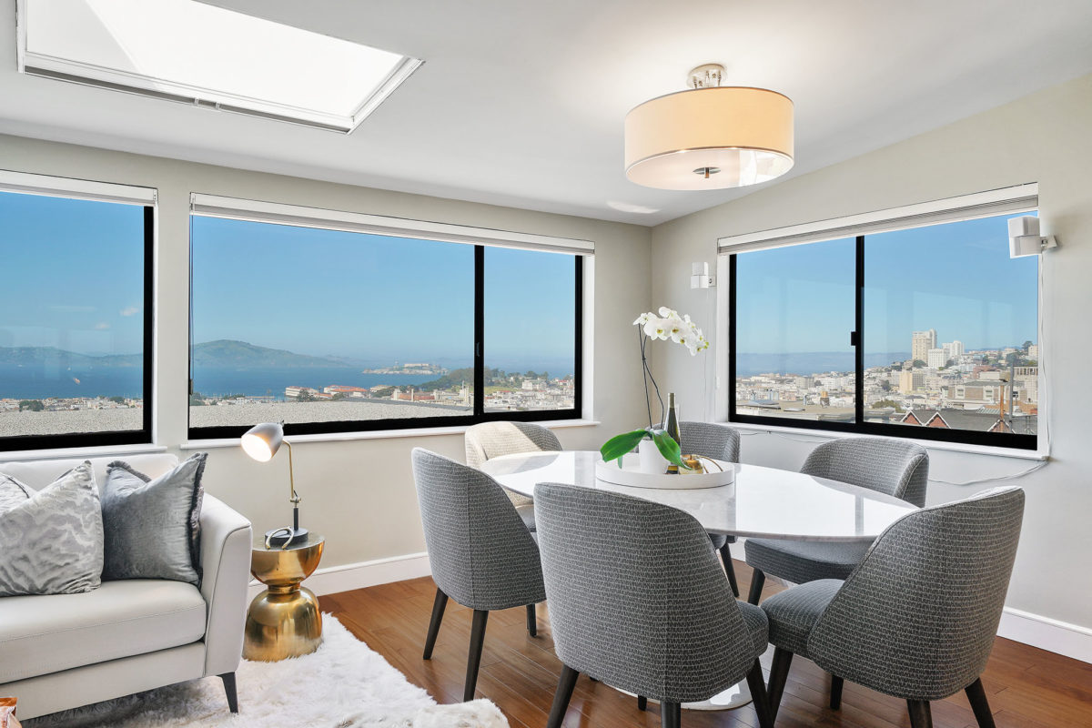 Rare Pacific Heights Penthouse w/Panoramic Bay Views!