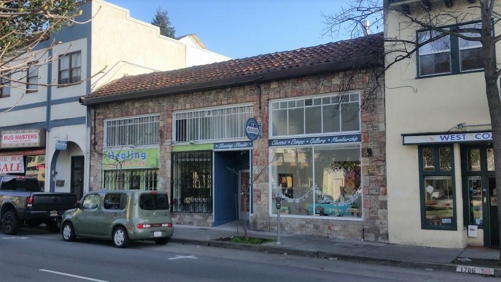 Berkeley Commercial Building on University Ave.