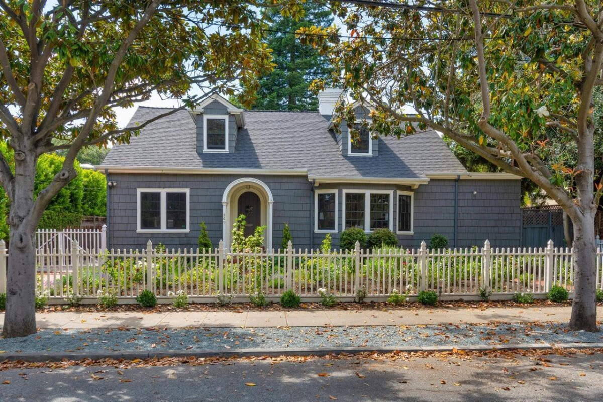Charming Storybook Home in Palo Alto Professorville